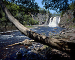 High Falls of the Baptism River, Tettegouche State Park, Minnesota, June, 1988