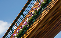 A detail of one of the walkways to Centre Court<br /> <br /> Photographer Ashley Western/CameraSport<br /> <br /> Wimbledon Lawn Tennis Championships - Day 3 - Wednesday 5th July 2017 -  All England Lawn Tennis and Croquet Club - Wimbledon - London - England<br /> <br /> World Copyright &not;&copy; 2017 CameraSport. All rights reserved. 43 Linden Ave. Countesthorpe. Leicester. England. LE8 5PG - Tel: +44 (0) 116 277 4147 - admin@camerasport.com - www.camerasport.com
