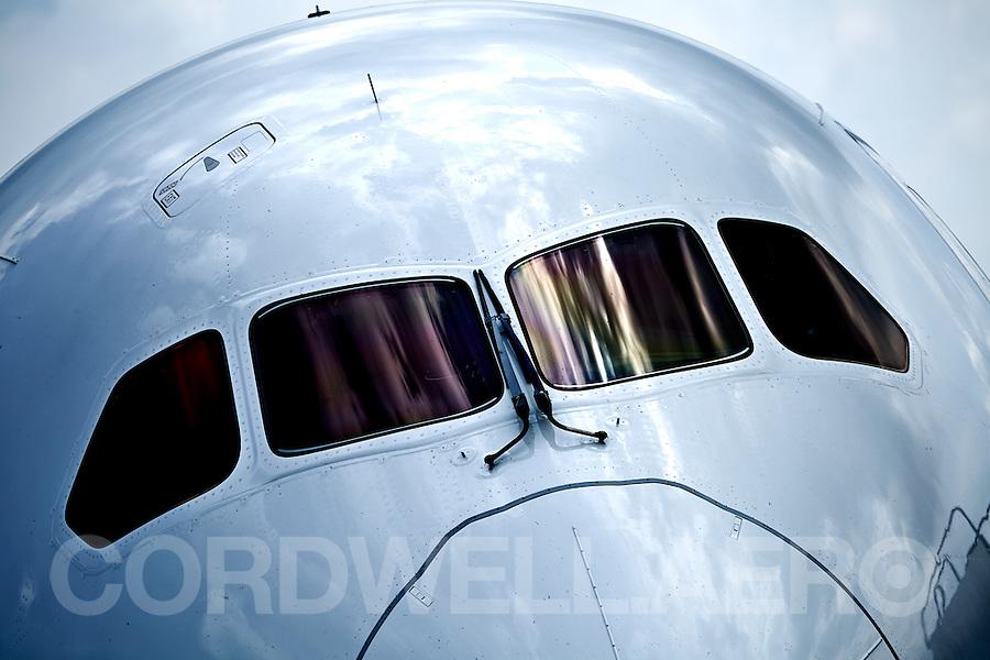 Boeing 787-9 Dreamliner Jet Airliner.