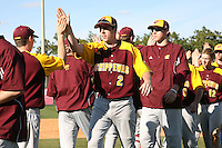 March 7, 2010:  Reid Rooney (2) of the Central Michigan Chippewas during game at Jay Bergman Field in Orlando, FL.  Central Michigan defeated Central Florida by the score of 7-4.  Photo By Mike Janes/Four Seam Images