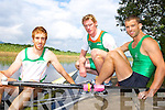 Olympic rowers Cathal Moynihan, Sean Casey, Paul Griffin