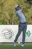 Kyle Stanley (USA) watches his tee shot on 18 during round 3 of the World Golf Championships, Mexico, Club De Golf Chapultepec, Mexico City, Mexico. 3/3/2018.<br /> Picture: Golffile | Ken Murray<br /> <br /> <br /> All photo usage must carry mandatory copyright credit (&copy; Golffile | Ken Murray)