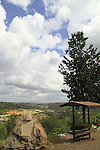 Israel, Sharon region, Ilan lookout at Rosh Haayin forest