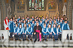 Convent Primary School, Listowel : The pupils from Listowel Convent primary school who were confirmed in St. Mary's Church, Listowel by Bishop Bill Murphy on Wednesday 21st March...1st row left to right:..Karolina Kowalczyk, Anna Sheahan, Bonita O' Doherty, Saoirse Galvin, Bishop Murphy, Saidhbh Carmody, Eimear Quinn, Mairead Brosnan, Amy O' Connor, Sammy-Jo McCarthy..2nd row:..Dearbhla Canty, Rebecca Bambury, Katie Mulvihill, Kelly Scanlon, Cora Galvin, Taylor Loughnane, Sophie McEneaney, Selina McCool, Molly Reilly, Mary Keane, Laura Sheahan, Leah Murphy-Mulvihill, Mrs. Murphy (Teacher)..3rd row:..Canon Declan O' Connor, Amy Carmody, Ruth Healy, Kaylene Chute, Hannah Daly, Mairead Sheehy, Chloe Galvin, Cara O' Brien, Jane Downey, Aisling Keane, Caoimhe Shine-Hill, Kaytlann Barry-Chute, Rachel Moloney..Back row:..Ms. Carmody (Teacher), Martina Leahy, Mary Kate Healy, Olivia Quinlan, Brittany White, Michaela Barry, Oliwia Figas, Anna Bajzat, Adi Canty, Tia O' Connor, Edel Quinn... ..