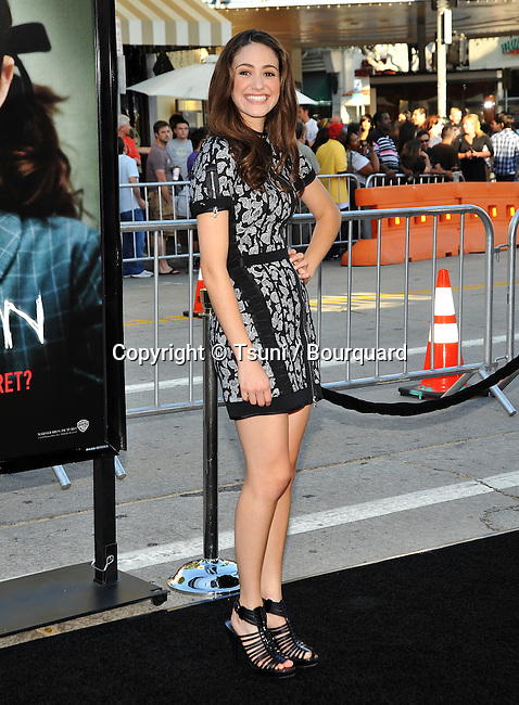 Emmy Rossum -<br /> Orphan Premiere at the Westwood Village Theatre In Los Angeles.