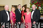 St. Michael's College Valentine's Ball : Attending the St Michaels College Ball on Saturday night last which was held at The Listowel Arms Hotel were Joe & Agnes Mccarthy, Kevin, Pauline Jean & Paudie Lynch, Listowel