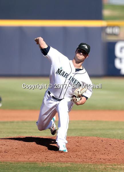 Darin Gillies - Peoria Javelinas - 2017 Arizona Fall League (Bill Mitchell)