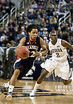 March 18, 2012:   Bucknell Bison guard Bryson Johnson drives past Nevada Wolf Pack's Jerry Evans Jr. during their NIT second round game played at Lawlor Events Center on Sunday afternoon in Reno, Nevada.