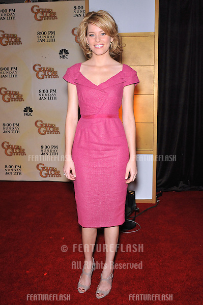 Elizabeth Banks at the nominations announcement for the 66th Annual Golden Globe Awards at the Beverly Hilton Hotel..December 11, 2008  Beverly Hills, CA.Picture: Paul Smith / Featureflash