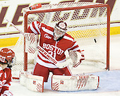 Steven Whitney (BC - 21) made it 3-1 BC with his first goal of the game against Kieran Millan (BU - 31) 4:33 into the second period. - The Boston College Eagles defeated the visiting Boston University Terriers 5-2 on Saturday, December 4, 2010, at Conte Forum in Chestnut Hill, Massachusetts.