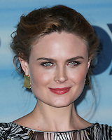 SANTA MONICA, CA, USA - SEPTEMBER 08: Actress Emily Deschanel arrives at the 2014 FOX Fall Eco-Casino Party held at The Bungalow on September 8, 2014 in Santa Monica, California, United States. (Photo by Xavier Collin/Celebrity Monitor)