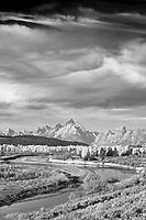 Autumn, Buffalo Fork Overlook, Buffalo Valley, Jackson Hole, Wyoming