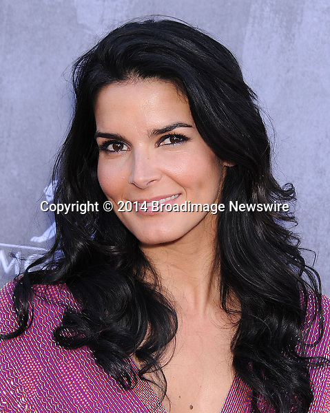 Pictured: Angie Harmon<br /> Mandatory Credit &copy; Ann Porter/Broadimage<br /> Tha 49th Academy of Country Music Awards <br /> <br /> 4/6/14, Las Vegas, California, United States of America<br /> <br /> Broadimage Newswire<br /> Los Angeles 1+  (310) 301-1027<br /> New York      1+  (646) 827-9134<br /> sales@broadimage.com<br /> http://www.broadimage.com