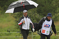 Richard McEvoy (ENG) on the 10th tee during Round 2 of the D+D Real Czech Masters at the Albatross Golf Resort, Prague, Czech Rep. 01/09/2017<br /> Picture: Golffile | Thos Caffrey<br /> <br /> <br /> All photo usage must carry mandatory copyright credit     (&copy; Golffile | Thos Caffrey)