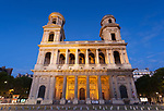 Saint Sulpice church, Paris, France