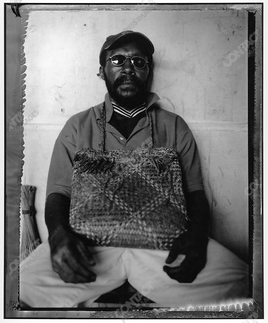 """Ghost,"" Raskols, gangs of Port Moresby, Papua New Guinea, January 2004"