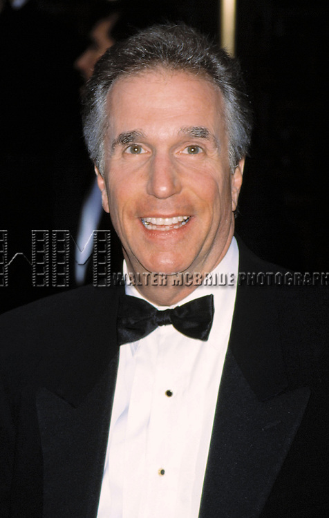 Henry Winkler attends the 55th Annual Tony awards at Radio City, NYC<br />