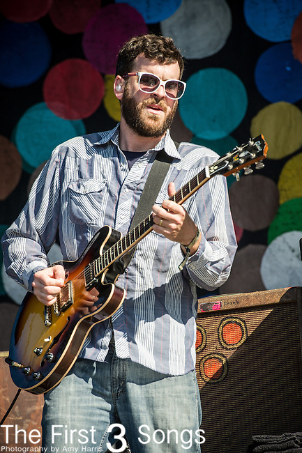 Frank McElroy of Dr. Dog performs during Day 1 of the 2013 Firefly Music Festival in Dover, Delaware.