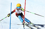 LEAD, SD - JANUARY 31, 2016 -- Kjetil Hassman works through the slalom in the U12 category during the 2016 USSA Northern Division Ski Races at Terry Peak Ski Area near Lead, S.D. Sunday. (Photo by Richard Carlson/dakotapress.org)