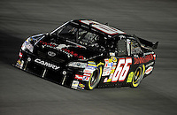 Oct. 15, 2009; Concord, NC, USA; NASCAR Sprint Cup Series driver Dave Blaney during qualifying for the Banking 500 at Lowes Motor Speedway. Mandatory Credit: Mark J. Rebilas-