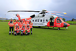 On Saturday afternoon Drogheda Unit of the Irish Coast Guard responded to an incident callout, The Irish Coast Guard Helicopter rescue 116 was inbound from the Cooley mountains with a female casualty with leg injuries, Also on scene was members of Drogheda Fire and rescue service and Members of the HSE ambulance service from Drogheda Station.<br /> Rescue 116 touched down in the O'Raghallaighs GAA grounds and the casualty was transferred to the awaiting ambulance and then on to Our Lady of Lourdes Hospital for further treatment.<br /> <br /> Picture: www.newsfile.ie