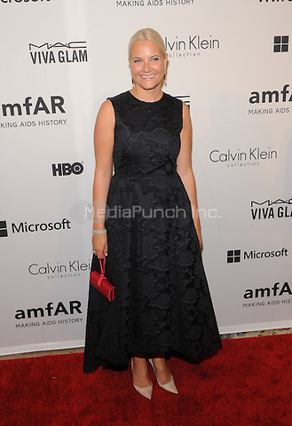 New York,NY- June 10: HRH Crown Princess Mette-Marit of Norway attends the amfAR Inspiration Gala at The Plaza Hotel In New York City on June 10, 2014 . Credit: John Palmer/MediaPunch