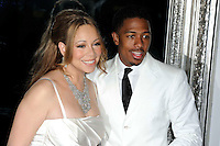 News Pictures--- PARIS, FRANCE - APRIL 27: US singer Mariah Carey and her husband Nick Cannon pose for photographers to celebrate their fourth wedding anniversary at the 'Plaza Athenee' Hotel, on April 27, 2012 in Paris, France. Local Caption Mariah Carey, Nick Cannon  .. Credit: Edouard Bernaux/News Pictures/MediaPunch inc. ***FOR USA ONLY*** NORTEPHOTO.COM<br />