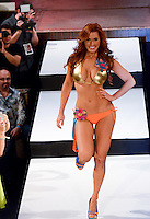 Miami Dolphins Cheerleader, Amy, walks runway at Miami Dolphins Cheerleaders 2013 Swimsuit Calendar Unveiling Fashion Show at LIV Nightclub in The Fontainebleau Miami Beach Hotel, Miami Beach, FL on August 26, 2012