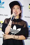 """Riisa Naka, September 19, 2014 : Japanese actress Riisa Naka greets fans and media during the """"adidas Originals by Rita Ora"""" launch on September 19, 2014 in Tokyo, Japan. (Photo by Rodrigo Reyes Marin/AFLO)"""