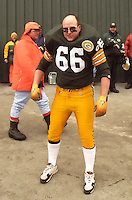 A fan dresses up as Ray Nitschke in 1996.