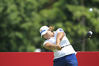 Mirim Lee (KOR) in action on the 9th during Round 4 of the HSBC Womens Champions 2018 at Sentosa Golf Club on the Sunday 4th March 2018.<br /> Picture:  Thos Caffrey / www.golffile.ie<br /> <br /> All photo usage must carry mandatory copyright credit (&copy; Golffile | Thos Caffrey)