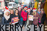 Traders from Listowel promoting a shop local campaign this Christmas Teresa Lasker (Kevin Brodericks), Sonia Blissen (Brodericks Pharmacy), Bernadette O'Connor (Maguires Pharmacy), Jerry Behan (The Horseshoe Bar and Restaurant), Jackie McGillycuddy (McGillycuddys Corner), Katie and Teresa Hillard (Kevins), Teresa  Eileen Carey (Brodericks Pharmacy), Lisa Barry (Brodericks Pharmacy), Martina Wilmot (Brodericks Pharmacy), Sharon Farley (Price Savers), Gordon Flannery (Con Dillons Bar)