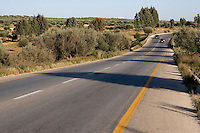 Near Tarhouna, Libya - Libyan Highway, Motorway