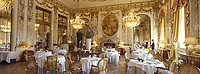 "Europe/France/75/Paris: Hotel ""Meurice "" 228 rue de Rivoli- Salle du restaurant style Louis XVI"