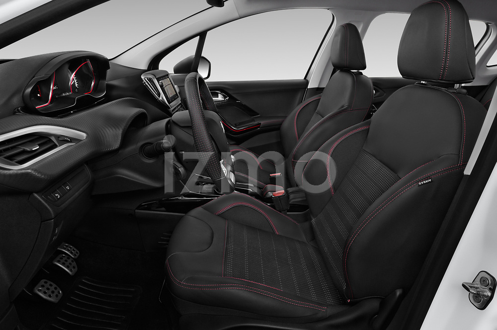Front seat view of 2019 Peugeot 2008 GT-Line 5 Door SUV Front Seat  car photos