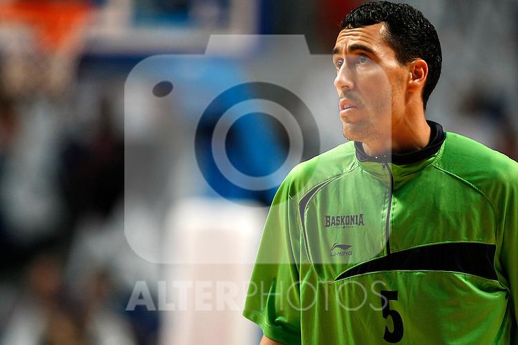 Caja Laboral´s Pablo Prigioni during La Liga ACB Playoffs semifinal last match, Madrid 2012/June/02..(ALTERPHOTOS/ARNEDO)