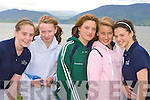 Glen/Ballinskelligs rowers Rachel Smith, Aoife Sugrue, Vanessa McAlesse, Kasia Sobich and Grainne O'Shea at the Cromane regatta on Saturday...