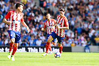 Fernando Torres of Atletico Madrid (9) during the pre season friendly match between Brighton and Hove Albion and Atletico Madrid at the American Express Community Stadium, Brighton and Hove, England on 6 August 2017. Photo by Edward Thomas / PRiME Media Images.