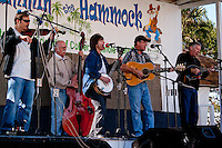 the Band Bugtussel Ramblers performes at the Third Annual Jamming at the Hammock, Bluegrass Festival, Collier Seminole State Park, 2010. Photo by Debi Pittman Wilkey