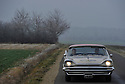 16/01/12 - ENNEZAT - PUY DE DOME - FRANCE - Essais DESOTO Sportsman Firesweep de 1957. PSM - Photo Jerome CHABANNE