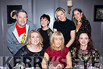 Friend night out enjoying a festive gathering at No 4 The Square, Tralee. Seated l-r, Aisling Nolan, Martha Diggins and Bernie O'Connell. Back l-r, Robert Sole, Suzy Buckley, Triona O'Keefe and Sarah Sylvester.