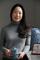 Sara Jane Ho, Etiquette Specualist, poses in Beijing, China. 15-Jan-2013