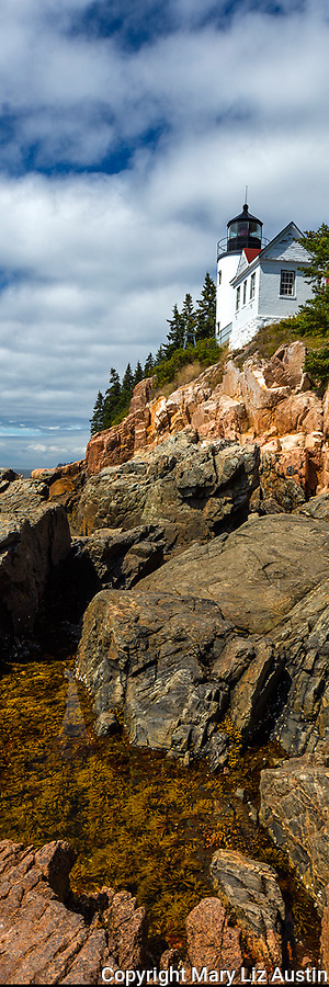 Acadia National Park, ME:  Bass Harbor Head Lighthouse (1858) - Mount Desert Island