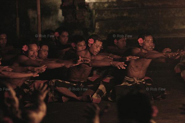 Traditional Balinese dancing. Chaka chaka chaka chaka. Mesmerising.