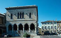 Loggia del Lionello, 1448-1456, Piazza della Liberta, Udine, Venetien-Friaul, Italien