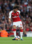 Arsenal's Mohamed Elneny in action during the premier league match at the Emirates Stadium, London. Picture date 11th August 2017. Picture credit should read: David Klein/Sportimage