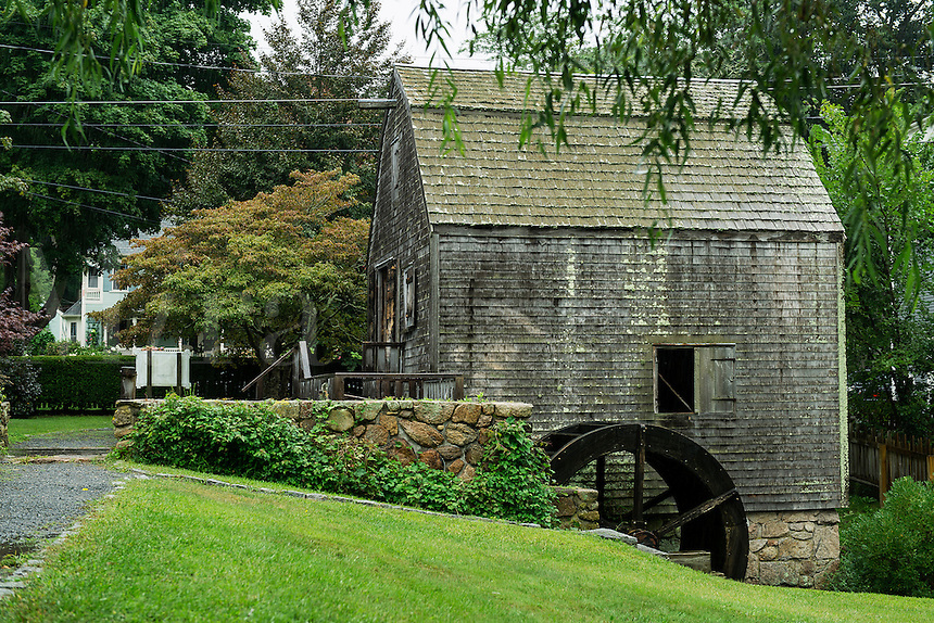 Thomas Dexter's Grist Mill, Sandwiich, Cape Cod, Massachusetts, USA