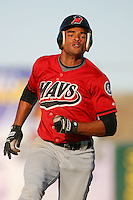 April 19 2009: Tyson Gillies of the High Desert Mavericks during game against the Lancaster JetHawks at Clear Channel Stadium in Lancaster,CA.  Photo by Larry Goren/Four Seam Images