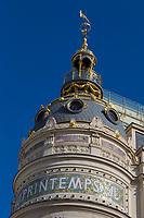 Europe/France/Ile-de-France/75009/Paris: Coupole du Grand Magasin Le Printemps au carrefour du boulevard Haussmann et de la rue du Havre