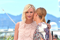 "Charlize Theron and Adele Exarchopoulos attends the ""The Last Face"" Photocall during the 69th Annual International Cannes Film Festival in Cannes, France, 20th May 2016. Photo Credit: Timm/face to face/AdMedia"
